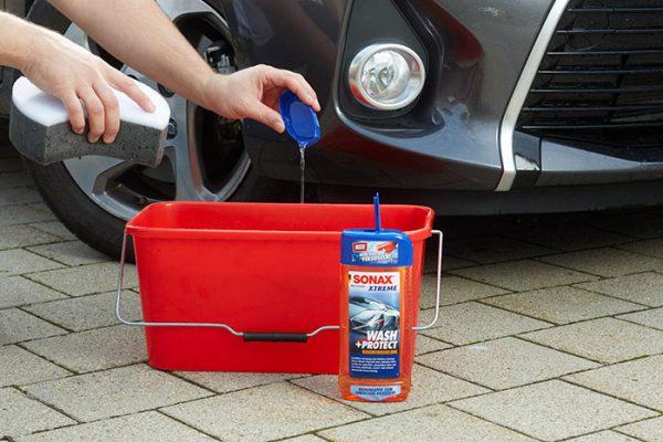 شامپو محافظ بدنه و آبگریز اکستریم-SONAX XTREME Wash + Protect Wash Sealant کد-244200