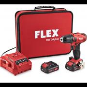 دریل شارژی 2 سرعته فلکس مدل FLEX DD 2G 10.8-LD 2 10.8 V کد - 450.561